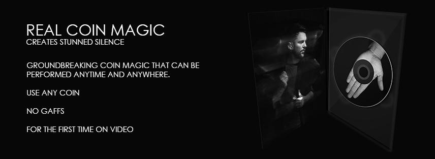 Real Coin Magic - Benjamin Earl - Vanishing Inc. Magic shop