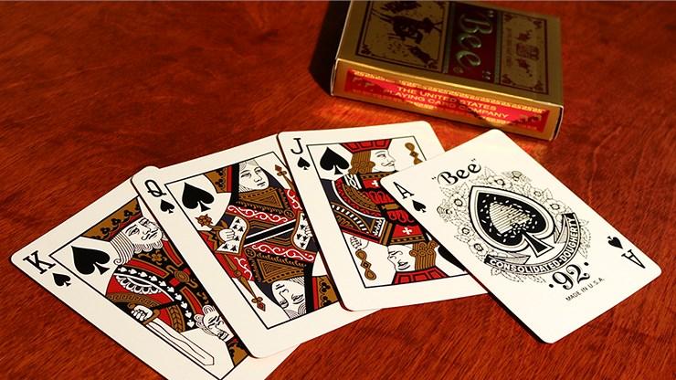 bee year of the sheep playing cards vanishing inc magic shop