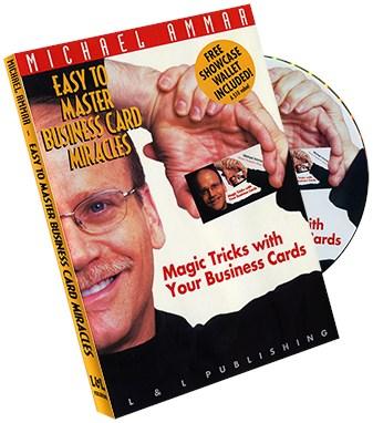 Business Card Miracles 3000 Michael Ammar Vanishing Inc