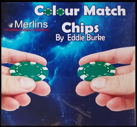 COLOUR MATCH CHIPS by Merlins