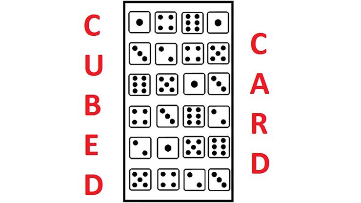 Cubed Card - Catanzarito Magic - Vanishing Inc. Magic shop