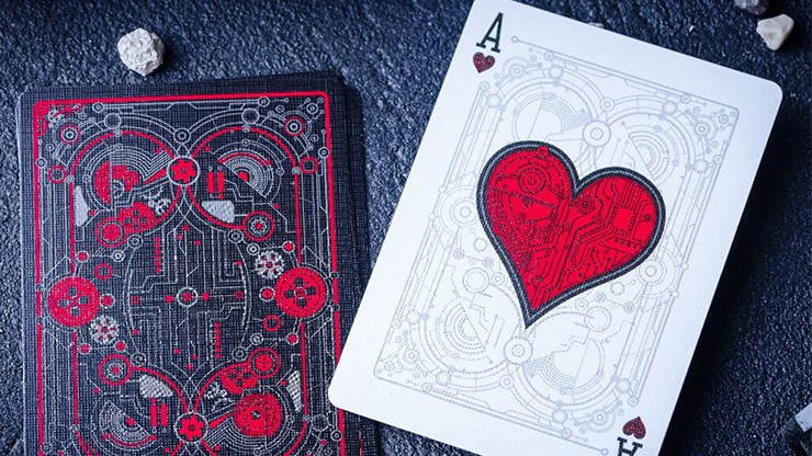Cyberpunk Red Playing Cards Deck Brand New