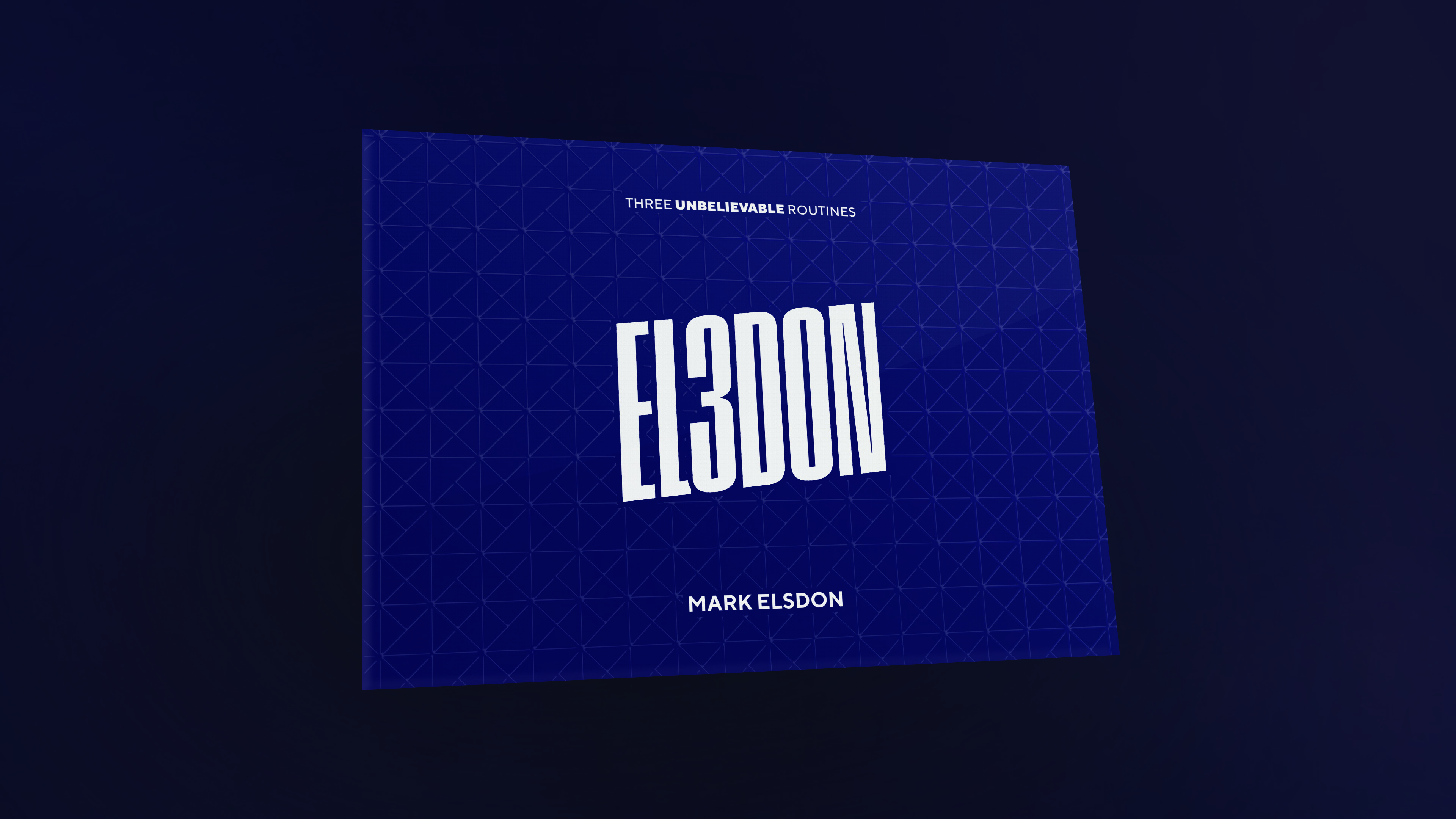 EL3DON - Mark Elsdon - Vanishing Inc. Magic shop