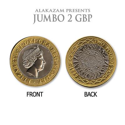 Jumbo British Two Pound Coin Magic
