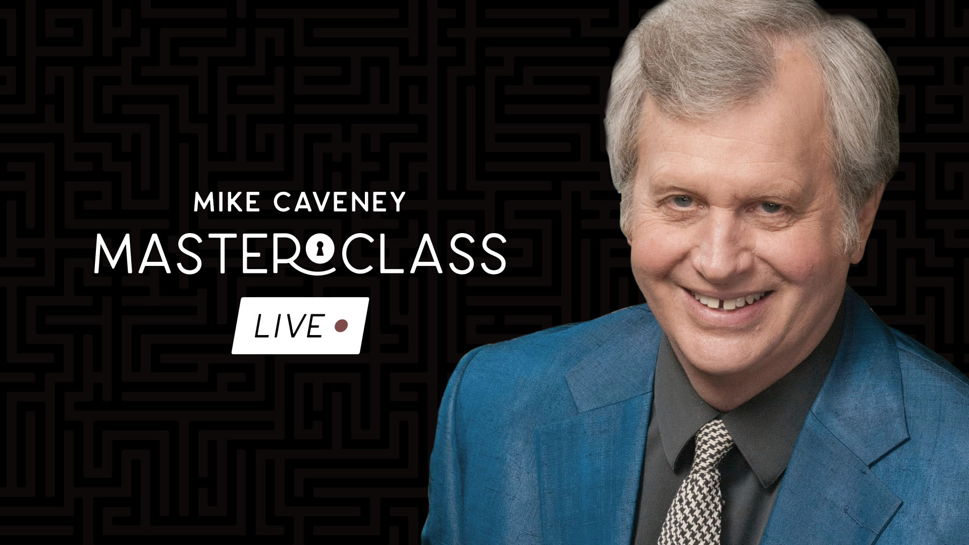 Mike Caveney: Masterclass: Live - Vanishing Inc. Magic shop