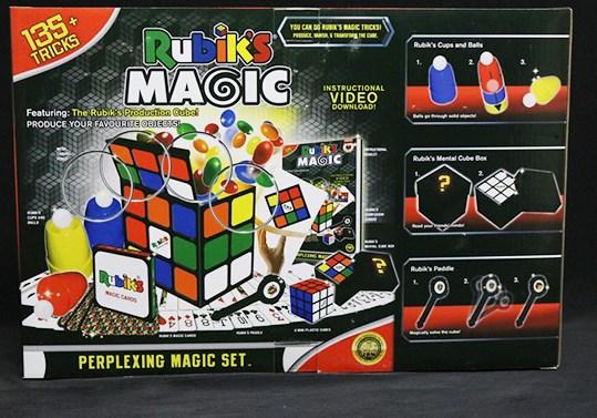 Rubik's Cube Perplexing Magic Set with 135 Tricks from Fantasma Magic