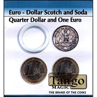 Scotch And Soda Quarter Dollar 1 Euro Magic