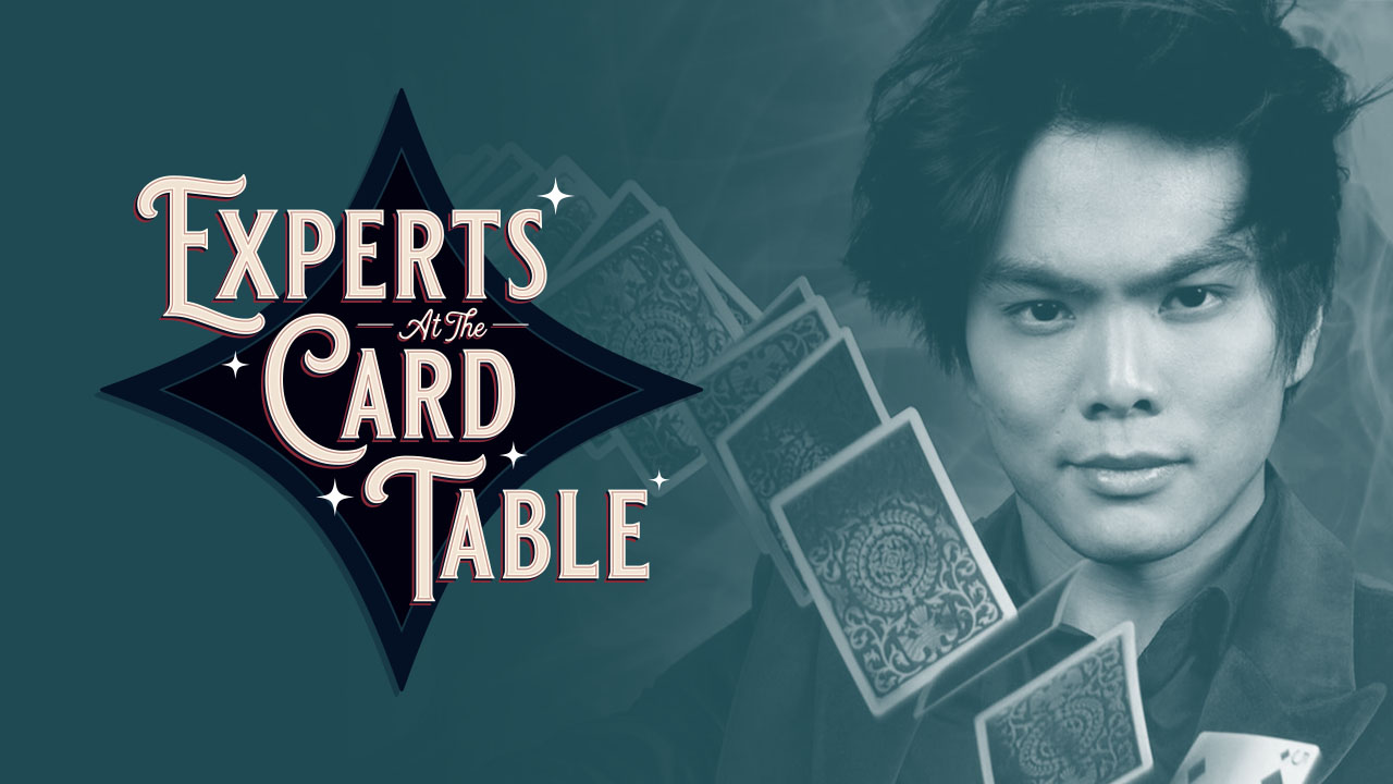 Shin Lim Lecture (Experts at the Card Table) - Vanishing Inc. Magic shop