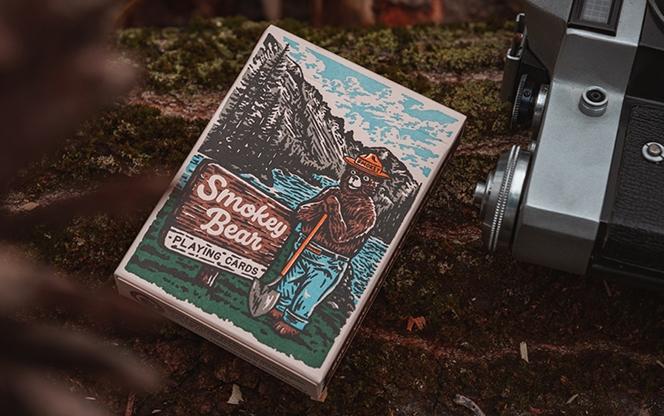smokey bear playing cards  vanishing inc magic shop