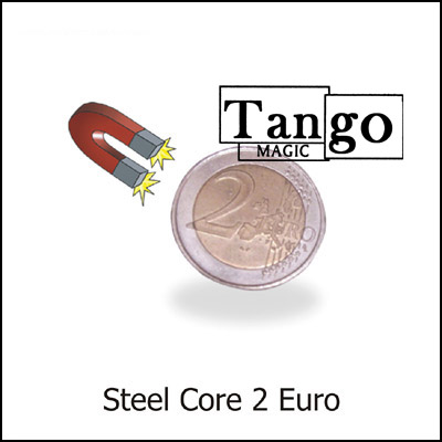 Steel Core Coin - 2 Euros - magic