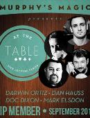 At The Table - September 2014 magic by Mark Elsdon, Darwin Ortiz, Dan Hauss, Doc Dixon and At the Table