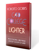 Card College Lighter Book