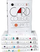 Card College Volumes 1 - 5 Book