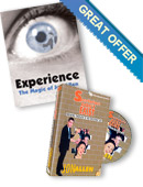 Experience book & DVD offer Special offer