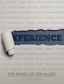 Experience: The Magic of Jon Allen softback Book