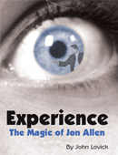 Experience: The Magic of Jon Allen Book