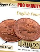 Flipper - Pro Gravity - English Penny Gimmicked coin