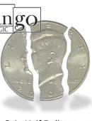Folding Coin - Half Dollar Gimmicked coin