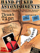 Hand-Picked Astonishments: Thumb Tips DVD