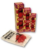 Reg Mini Sponge Balls Red (8 pack) Accessory