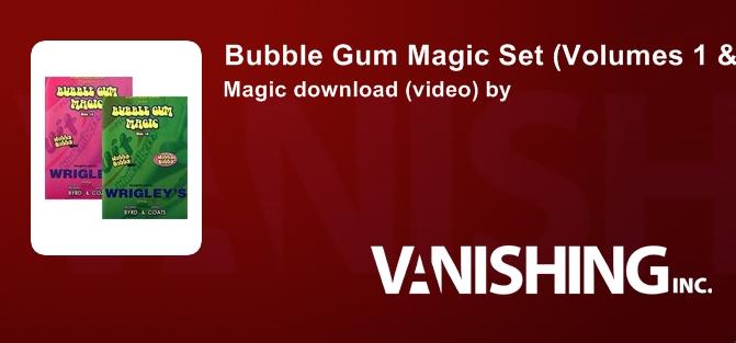 Magic KIT Bubble BUBBLE GUM