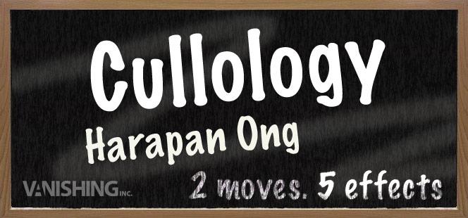 Cullology by Harapan Ong